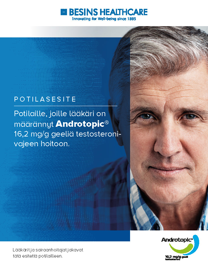 Potilasesite - Androtopic®