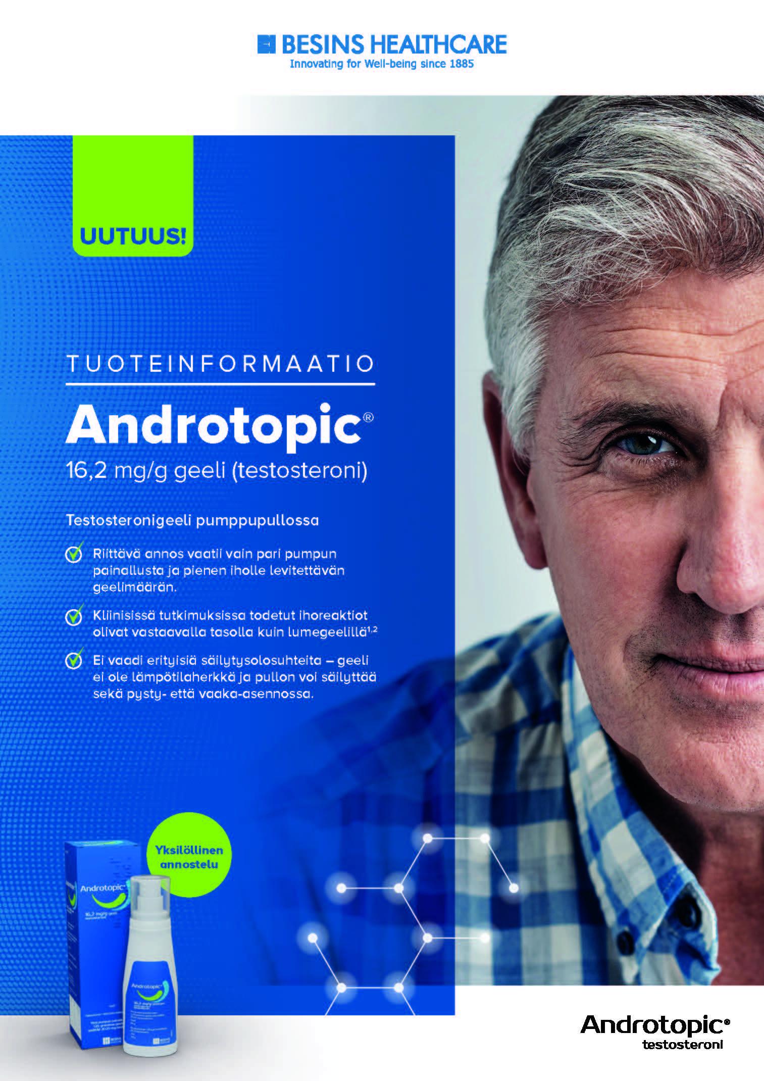 Produktinformation (finska) - Androtopic®